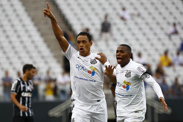 Ricardo Oliveira e Robinho