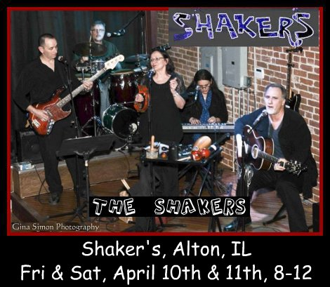 The Shakers 4-10, 4-11-15