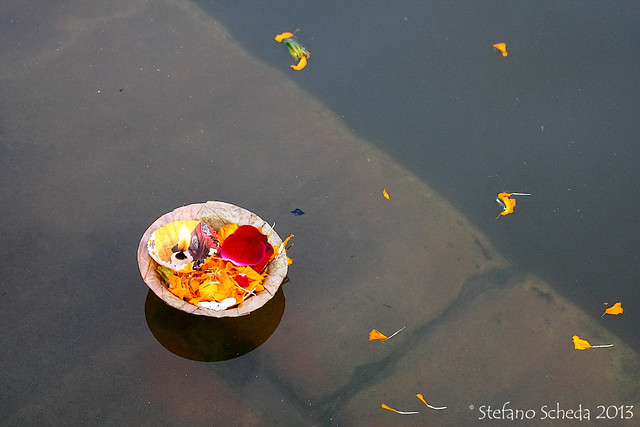 Floating prayers - Varanasi, India