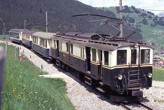 Trains du M.O.B.  (Suisse)