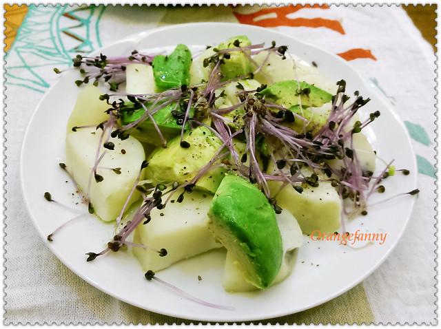 150415 水煮馬鈴薯、酪梨與水芹沙拉-02