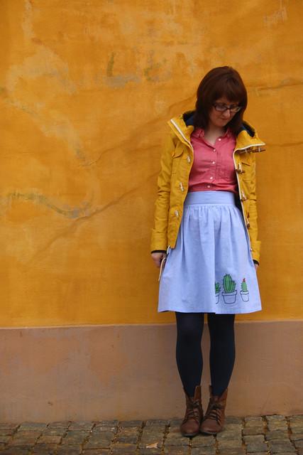Tilly and the Buttons Clémence Skirt, in Copenhagen, Denmark
