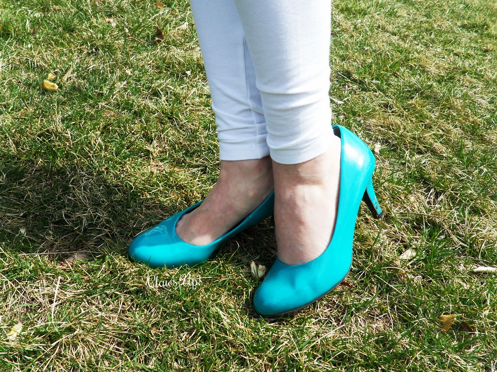 Mint shoes.