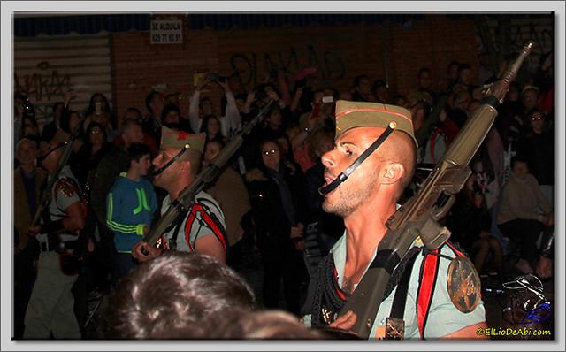 16 Semana Santa en Málaga. Cristo de Mena y Legionarios