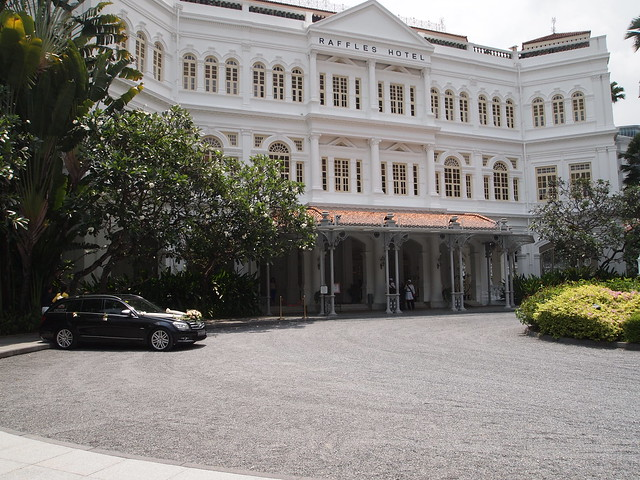 P4189270 RAFFFLES HOTEL(ラッフルズ・ホテル) シンガポール