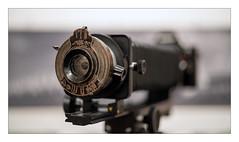 Bausch & Lomb Rapid Rectilinear 122/8 (1916; Kodak No 2 Folding Autographic Brownie)
