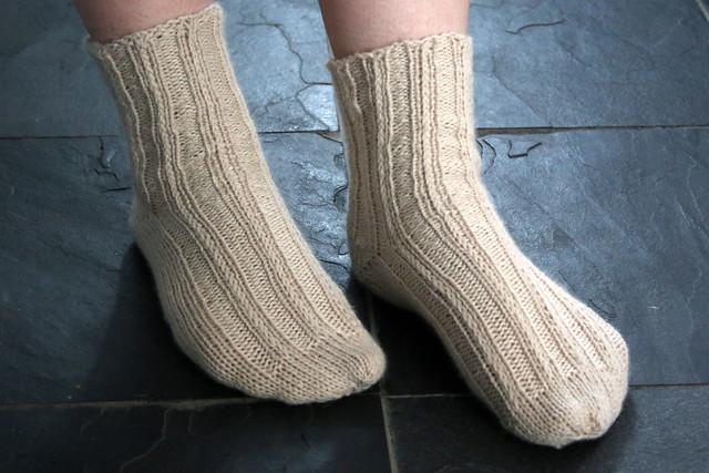 TOFT DK Oatmeal Bed Socks
