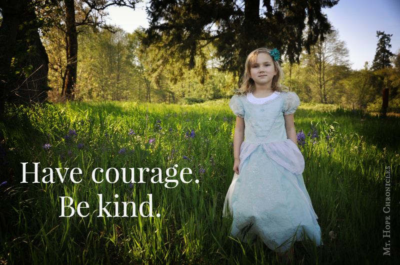 Have courage. Be kind. @ Mt. Hope Chronicles