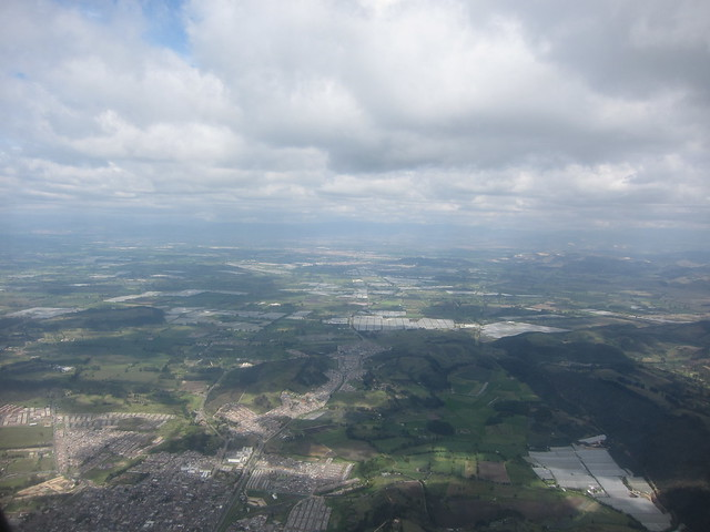 About to Land in Bogotá