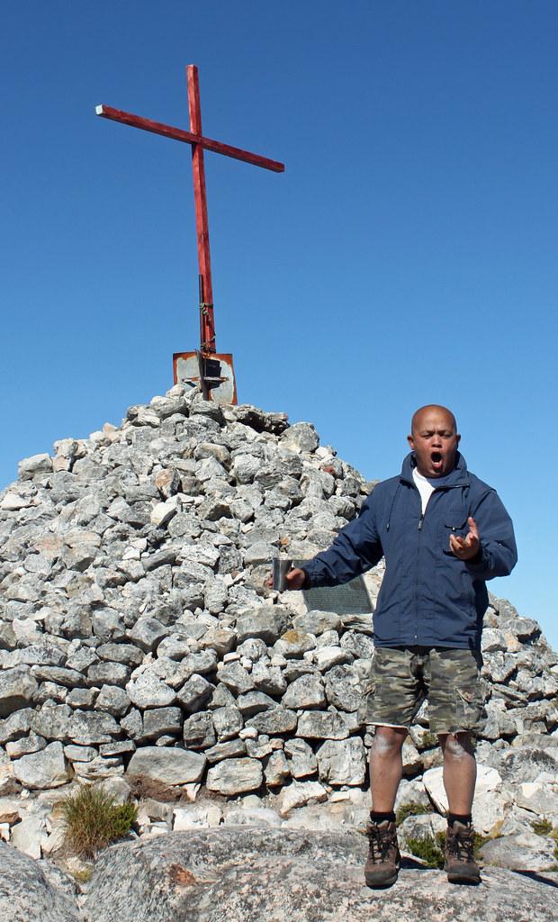 en magisk og uventet oplevelse på Table Mountain