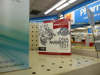 Who's Your Daddy? Drugstore Paternity Test