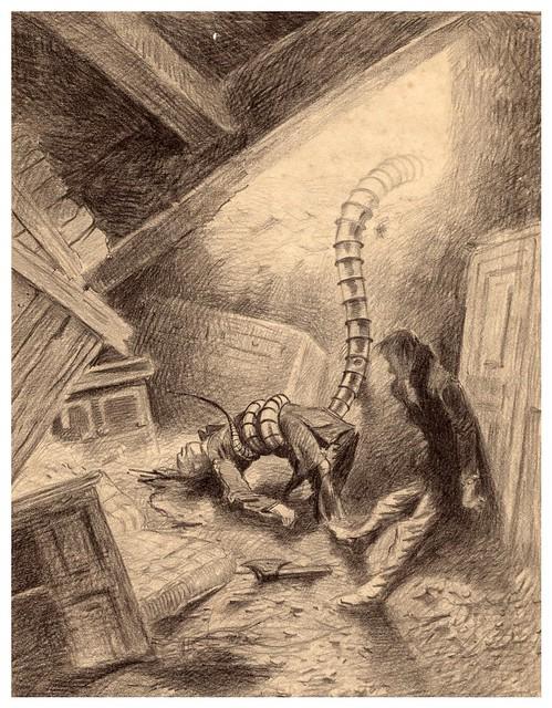 017-La Guerre des Mondes illustreè par Alvim Corrêa-1906- Heritage Auctions