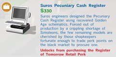 Suros Pecuniary Cash Register