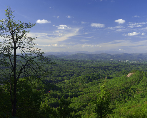 trees mountains rural landscape scenic northcarolina ridges