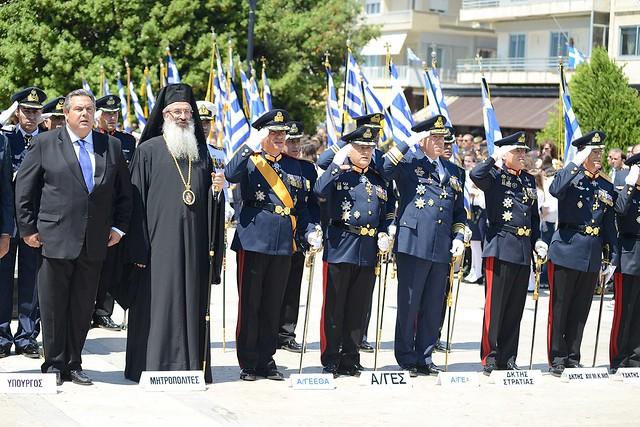 Παρουσία ΥΕΘΑ Πάνου Καμμένου στα «Ελευθέρια 2015» στην Αλεξανδρούπολη