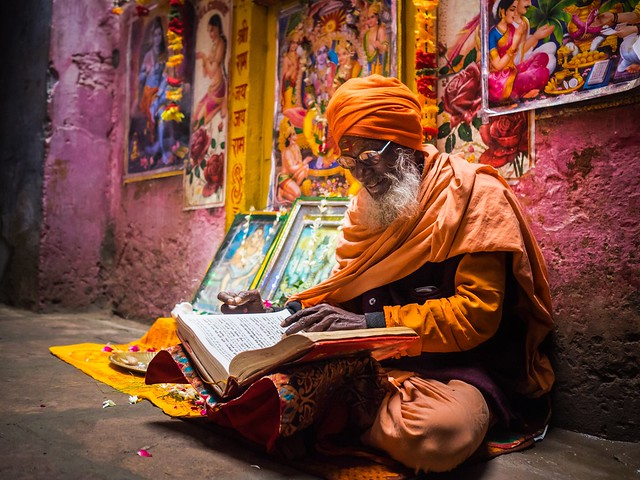 Incredible India, final image - Varanasi