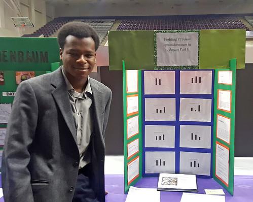 Evan Buckner Soy State Science Fair