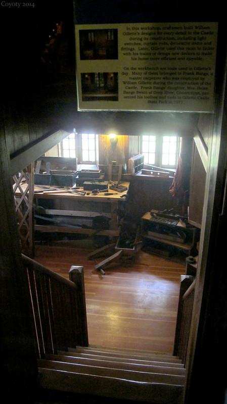 William Gillette's secret lab