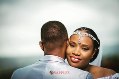 A Queen and her King! #weddingwednesday #destinationwedding #destinationweddingphotographer #jamaicanphotographer #destinationJamaica #sapplesphotography #awardwinningphotographer #coupleschoiceaward2016
