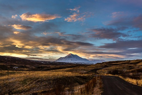sky sunshine sunrise iceland ísland eyjafjordur súlur sulur einarschioth