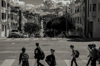 A moment in San Francisco #159-On the way to school
