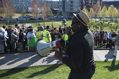 Minneapolis rally and march to support the people of Baltimore
