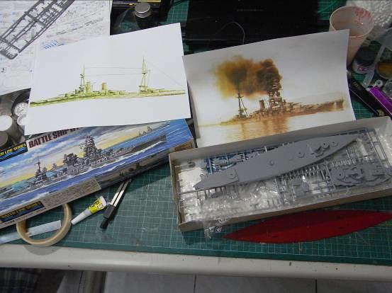 【玩具人詹波投稿】日本帝國海軍伊勢號戰艦製作分享