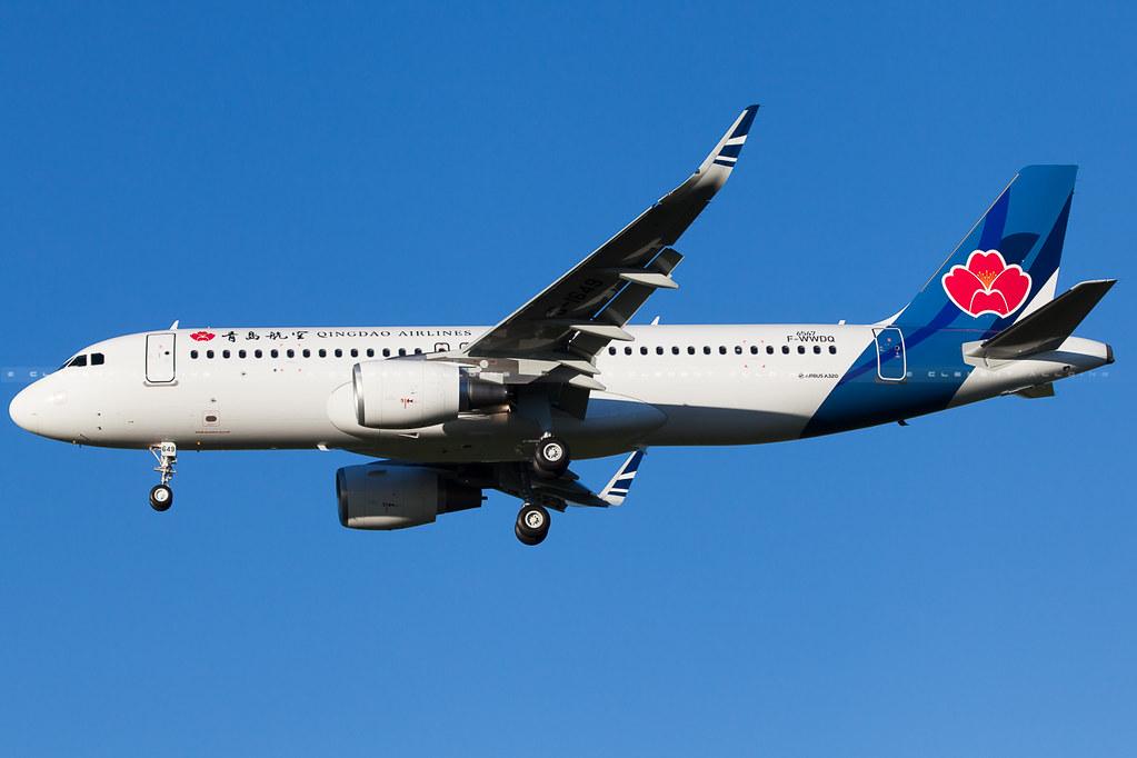 B-1649 - A320 - Qingdao Airlines
