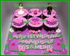 Cupcake set anniverary