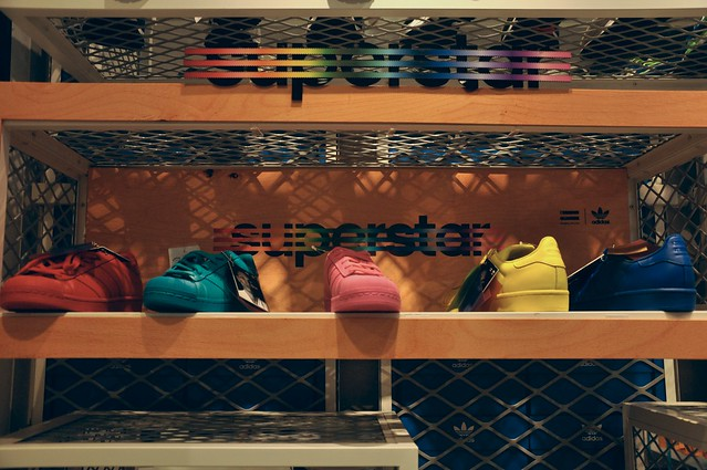 Colored Adidas Superstar