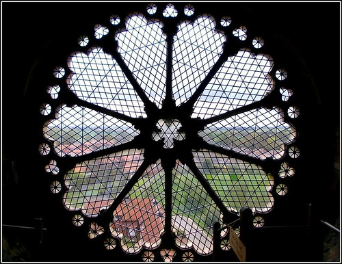 Beautiful Rose Window ..