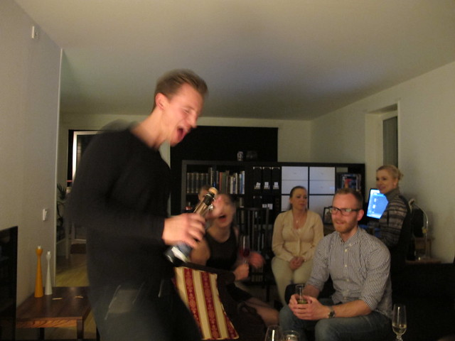 david's moving out party, helsingborg