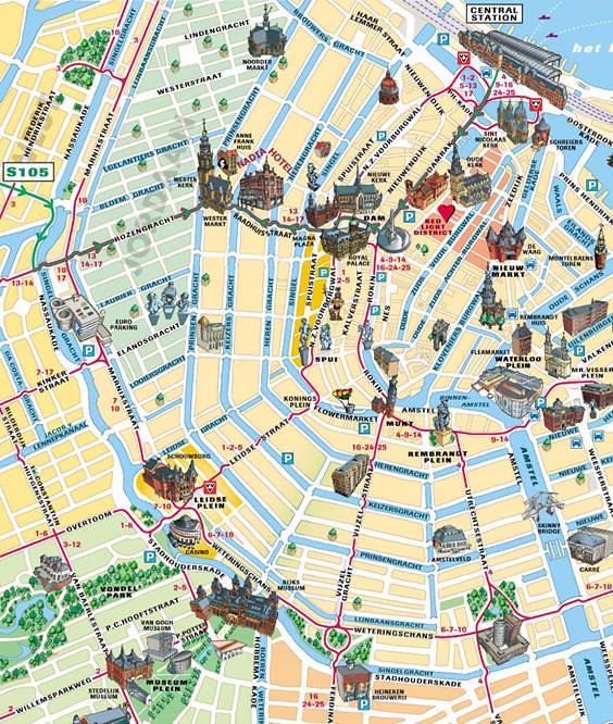 Amsterdam abre tu mente diarios de viajes de holanda for B b ad amsterdam centro