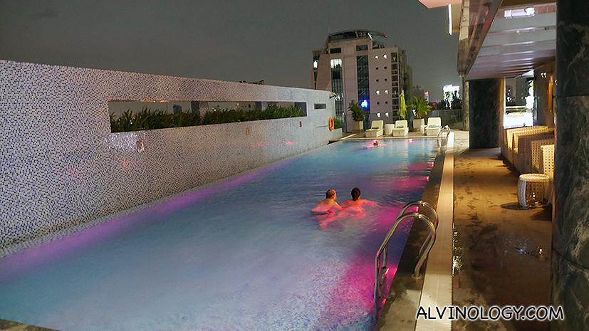 Adults' pool
