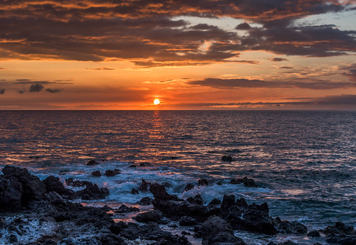 Three Sunsets: Sunset Rouge by Geoff Livingston