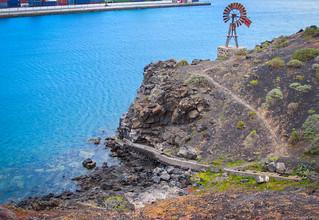 Immagine di Playa de Barlovento vicino a Arrecife. sea costa beach mar seaside lanzarote playa canarias shore canary seashore canaryislands arrecife orilladelmar