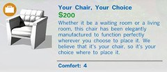 Your Chair Your Choice