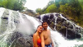 Nikko and Janna Hangga Falls