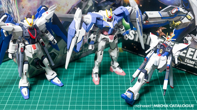 HG Strike Freedom Gundam - Work in Progress #1