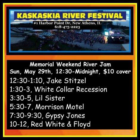 Kaskaskia River Festival 5-29-16