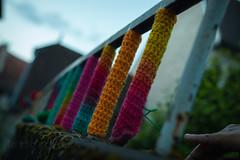 Yarn bombing Besançon 07