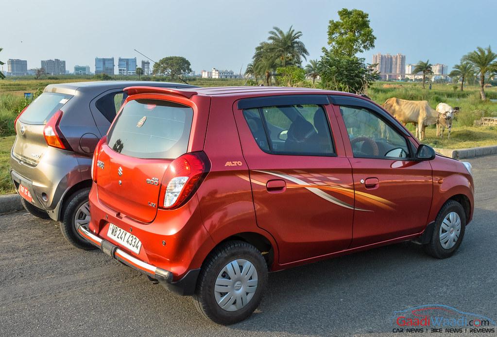 Maruti Alto 800 vs Datsun Redigo