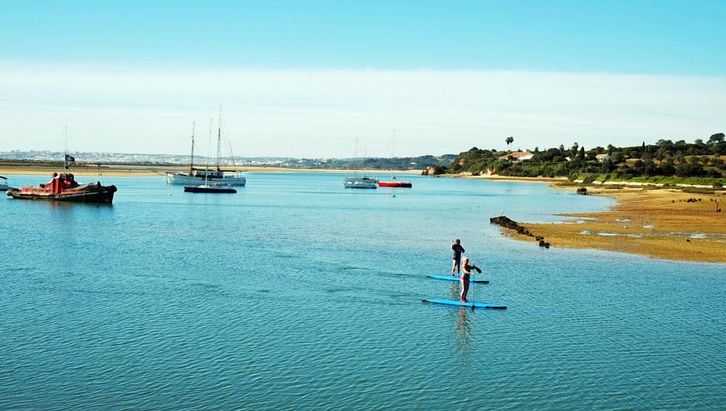 Paddlers, Alvor, Portugal