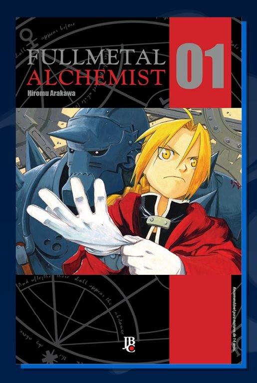 Confira a capa do relançamento de FullMetal Alchemist pela JBC