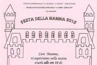 Noicattaro. Festa della Mamma 2015 Sabin front
