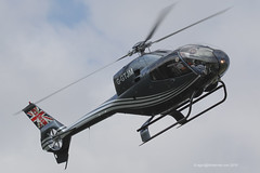G-GTJM - 2006 build Eurocopter EC120B Colibri, arriving at Breighton during the 2015 Home Built Aircraft Fly-in