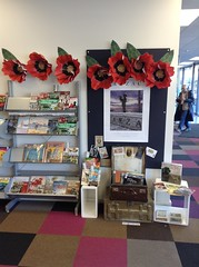 Gallipoli Display at Central Library Peterborough