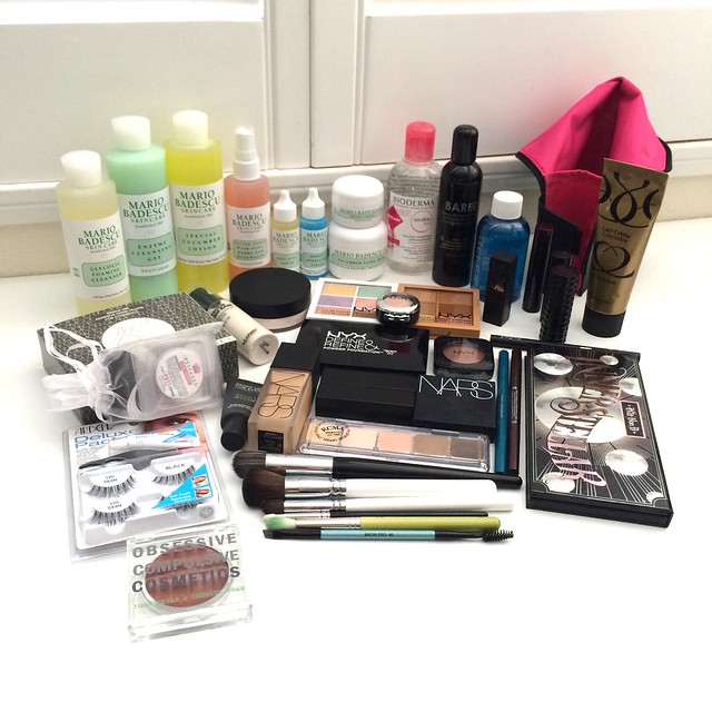 the makeup show la 2015 haul