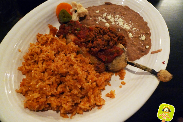el original - NYC tex mex - chile relleno