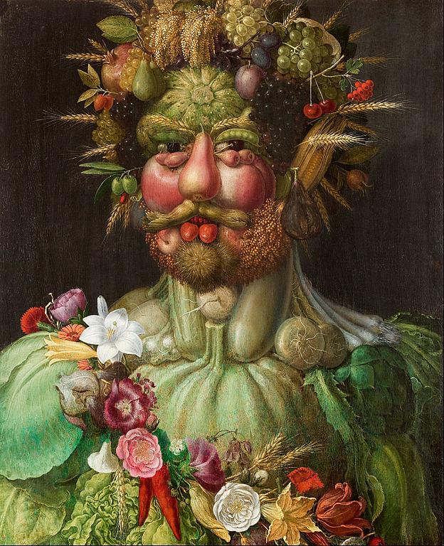 """Rudolf II"" by Giuseppe Arcimboldo"